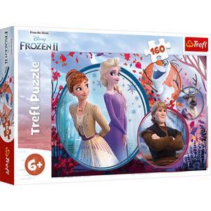 Puzzle TREFL Frozen II 15374, 6 ani+, 160 piese