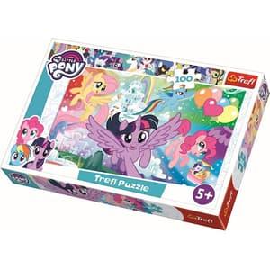 Puzzle TREFL My little Pony - Curcubeul prieteniei 16343, 5 ani+, 100 piese