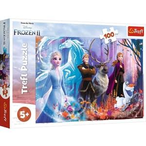 Puzzle TREFL Frozen II - Lumea magica 16366, 5 ani+, 100 piese