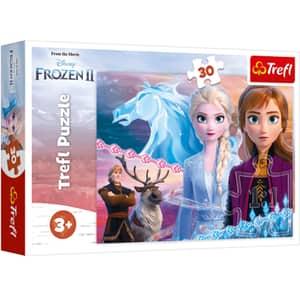 Puzzle TREFL Disney Frozen II - Curajoasele surori 18253, 3 ani+, 30 piese