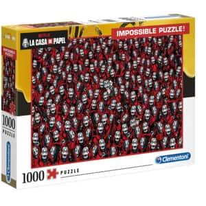 Puzzle CLEMENTONI La casa de papel - Impossible 1260-39527, 14 ani+, 1000 piese