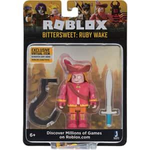 Figurina ROBLOX Celebrity Bittersweet - Ruby Wake, 6 ani+, rosu-portocaliu