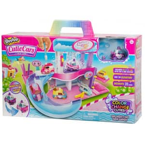 Set SHOPKINS Spa Wash Cars S3 57102, 5 ani+, multicolor