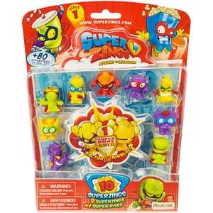 Set 10 figurine SUPERZINGS Seria 1 SZ1005, 3 ani+, multicolor