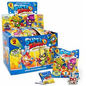 Set 50 de figurine SUPERZINGS II SZ20012, 3 ani+, multicolor