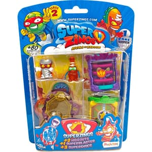 Set 4 figurine SUPERZINGS MagicBox Super Zings Seria 2 SZ2004, 3 ani+, multicolor
