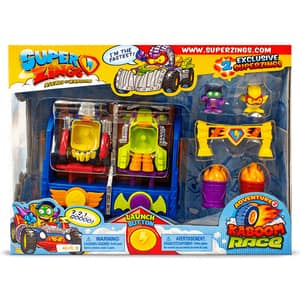 Set 2 figurine SUPERZINGS Cursa Kaboom SZ9002, 3 ani+, multicolor