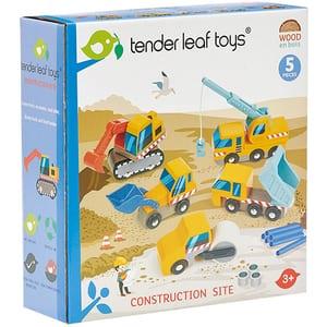 Set masinute TENDER LEAF Utilaje de construit TL8355, 3 ani+, multicolor