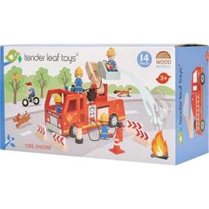 Masina de pompieri TENDER LEAF TL8367, 3 ani+, multicolor