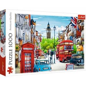 Puzzle TREFL Strada in Londra 10557, 12 ani+, 1000 piese