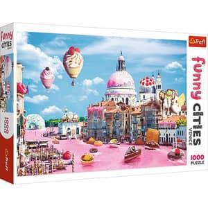 Puzzle TREFL Prajiturele la Venetia 10598, 12 ani+, 1000 piese