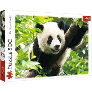 Puzzle TREFL Panda urias 37142, 10 ani+, 500 piese