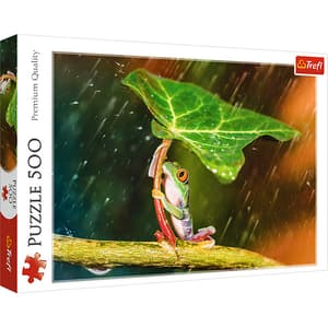 Puzzle TREFL Umbrela verde 37288, 10 ani+, 500 piese
