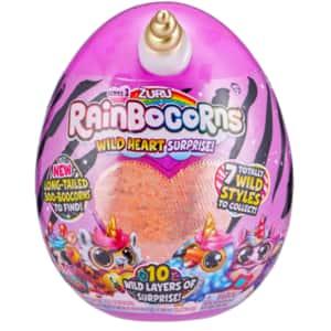 Jucarie de plus ZURU TOYS Rainbocorns -  Wild Heart 3 ZR9215, 3 ani+, multicolor