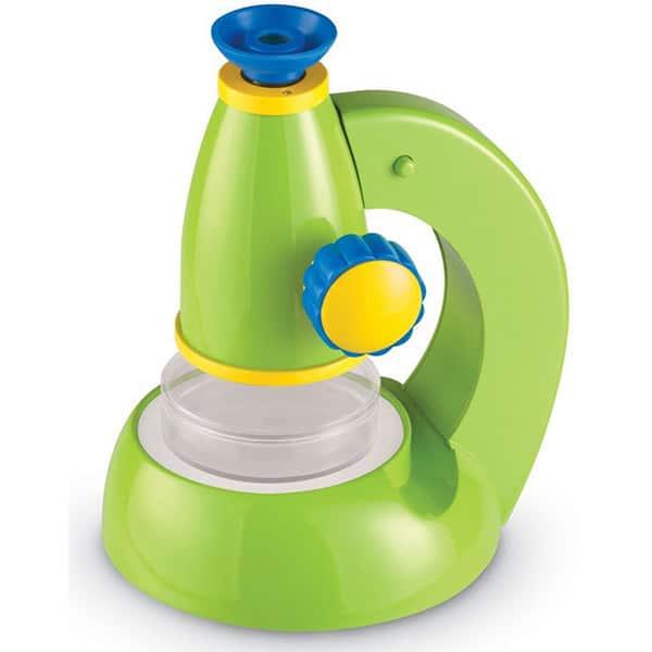 Jucarie de rol LEARNING RESOURCES Microscop ViewScope LER2760, 3 - 7 ani, albastru-verde