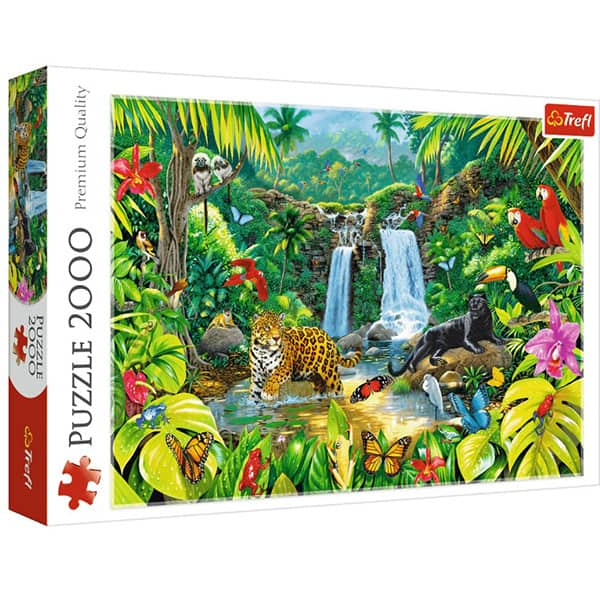 Puzzle TREFL Tropical forest 27104, 12 ani+, 2000 piese