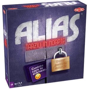 Joc de societate TACTIC Alias - Tarziu in noapte 55716, 18 ani+, 4-12 jucatori