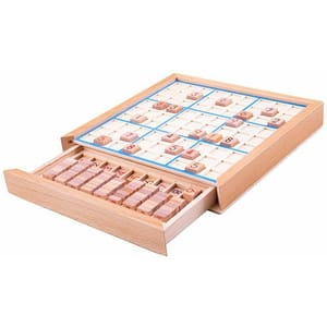 Joc educativ BIGJIGS Sudoku BJ084, 5 ani+