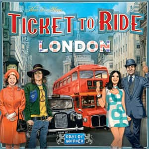 Joc de societate ASMODEE Ticket to Ride London 721861, 8 ani+, 2-4 jucatori