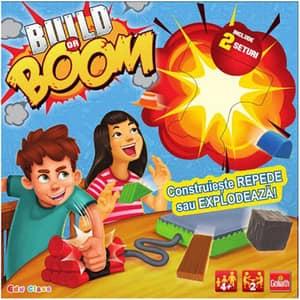 Joc de societate GOLIATH Build or boom 77105, 4 ani+, multicolor