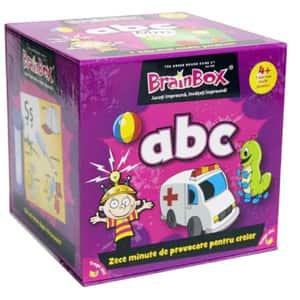 Joc de societate BRAINBOX ABC BX0209, 4 ani+, 1-6 jucatori