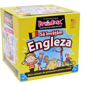 Joc de societate BRAINBOX Sa invatam Engleza BX0520, 8 ani+, 1-6 jucatori