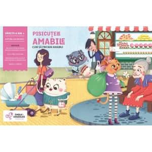Joc interactiv CHALK AND CHUCKLES Pisicutele amabile CCPPL048, 6 ani+, multicolor