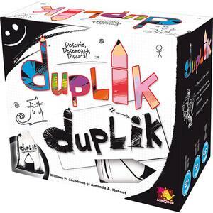 Joc de societate ASMODEE Duplik DUP01RO, 8 ani+, 3-10 jucatori