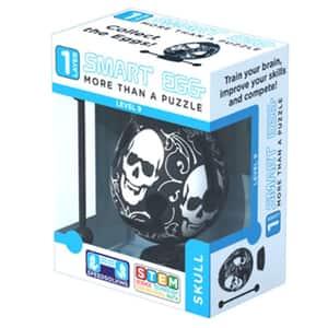 Joc educativ SMART EGG Craniu EGG2213, 6 ani+, alb-negru
