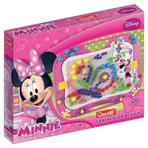 Joc educativ QUERCETTI Fantacolor design Minnie Q0906, 4 ani+, 320 piese