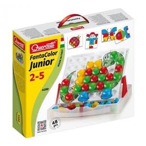 Joc educativ QUERCETTI Fantacolor Junior Q4190, 2 - 5 ani, 48 piese