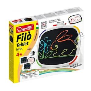 Joc creativ QUERCETTI Tableta Filo Basic Q0526, 4 ani+, 28 piese