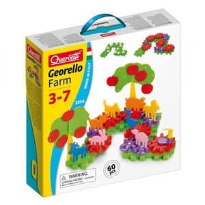 Joc creativ QUERCETTI Georello Farm Q2334, 3 - 7 ani, 60 piese