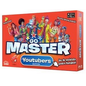 Joc de societate BLACKFIRE Go Master Youtubers Edition 1900010, 8 ani+, 2-6 jucatori