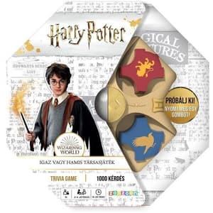 Joc de societate BLACKFIRE Harry Potter - Trivia Vrajitorilor 3820111, 8 ani+, 2-4 jucatori