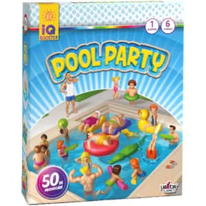 Joc de societate IQ BOOSTER Pool Party IQ2534, 6 ani+, 1 persoana