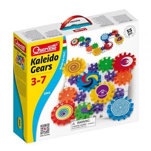 Joc constructie QUERCETTI Kaleido Gears Q2341, 3 - 7 ani, 55 piese