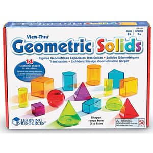 Forme geometrice LEARNING RESOURCES LER4331, 8 - 12 ani, multicolor