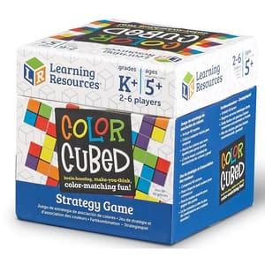 Joc de strategie LEARNING RESOURCES Cubul culorilor LER9283, 5 - 9 ani, multicolor