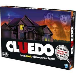 Joc de societate HASBRO Cluedo Clasic al Misterelor 387121, 8 ani+, 2 - 4 jucatori