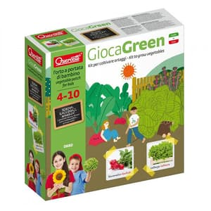 Joc educativ QUERCETTI Micul gradinar cultiva salata si ridichii Q0680, 4 - 10 ani