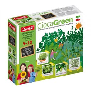Joc educativ QUERCETTI Micul gradinar cultiva plante aromatice Q0690, 5 - 10 ani
