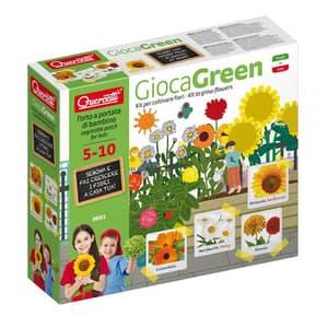 Joc educativ QUERCETTI Micul gradinar cultiva flori de camp Q0691, 5 - 10 ani