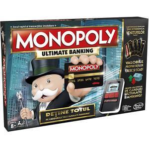 Joc de societate HASBRO Monopoly Ultimate Banking B6677, 8 ani+, 2 - 4 jucatori