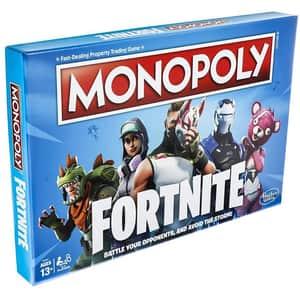 Joc de societate HASBRO Monopoly Fortnite E6603, 13 ani+, 2 - 4 jucatori