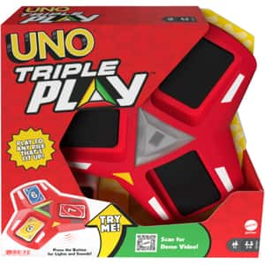 Joc de societate MATTEL Uno - Triple Play MTHCC21, 7 ani+, 2-6 jucatori