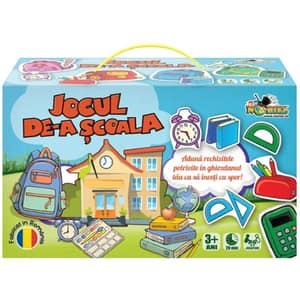 Joc educativ NORIEL Jocul de-a scoala NOR4147, 3 ani+, 44 piese