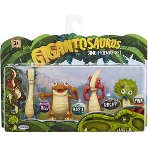 Set 4 figurine GIGANTOSAURUS Dino friends 98617-4L, 3 ani+, multicolor
