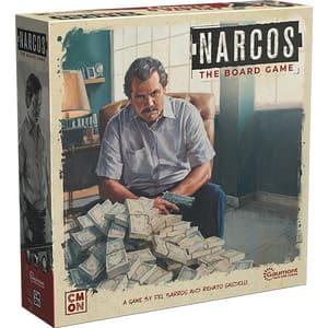 Joc de societate ASMODEE Narcos NRC002, 18 ani+, 2-5 jucatori