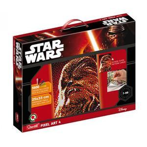 Joc creativ QUERCETTI Pixel Art Star Wars Chewbacca Q0847, 7 - 99 ani, 5600 piese
